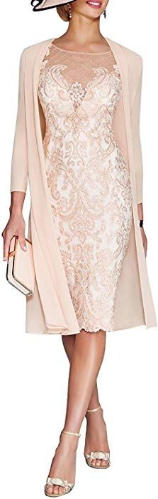online shopping for JYDress Women's Lace Mother The Groom Dresses Tea Length Jacket from top store. See new offer for JYDress Women's Lace Mother The Groom Dresses Tea Length Jacket Brides Mom Dress, Mother Of Bride Outfits, Mother Of Groom Dresses, Mothers Dresses, Mother Of The Bride Clothes, Mother Of The Bride Dresses Tea Length, Long Mothers Dress, Mother Of The Bride Looks, Bride Groom Dress