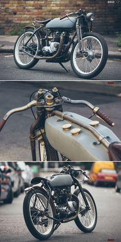 London's Untitled Motorcycles Triumph T100 SS