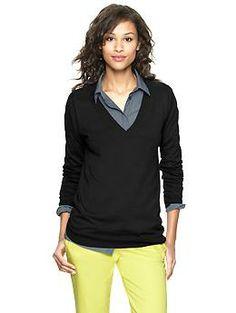 Luxlight-Pullover mit V-Ausschnitt | Gap