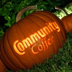 Carve your passion into your pumpkins!  #CommunityCoffee