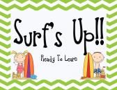 Surf Theme Behavior Clip Chart product from Surfin-Through-Second on TeachersNotebook.com