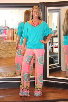 """""""My O My"""" Yoga Pants (Pink), $32.00"""