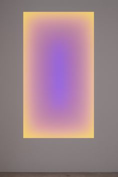 Light glowing from the wall, 2006, © James Turrell, courtesy Pace Gallery / Photo by: Genevieve Hanson