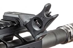 Ar-15 Iron Sights 45 Degree Offset Backup Iron Sights By Ozark Armament for Ar15 Rifles Picatinny Mount