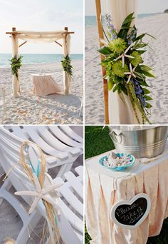 beach reception wedding flowers,  wedding decor, wedding flower centerpiece, wedding flower arrangement, add pic source on comment and we will update it. www.myfloweraffair.com can create this beautiful wedding flower look.