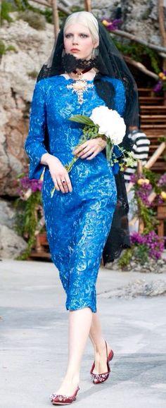 Dolce &Gabbana Alta Moda Fall 2014, Capry, Italy