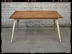 Holy Funk - Danish Kitchen Table Off White, $349.00 (http://www.holyfunk.com.au/furniture/danish-kitchen-table-off-white/) SWEET AS