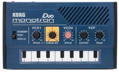 Korg Monotron Duo   Vintage Synth Explorer