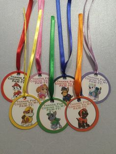 Paw patrol thank you tags paw patrol birthday di BusyBBoutique87