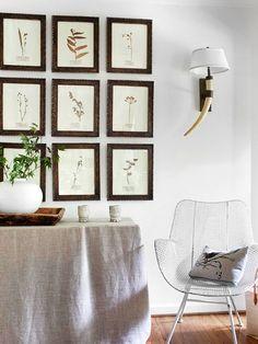 Displaying Artwork: Symmetrically | BHG Centsational Style