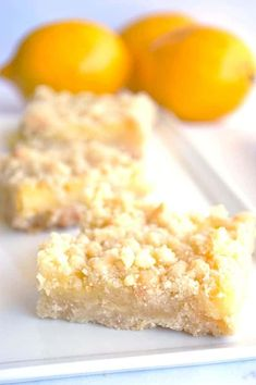 Lemon Crumble Bars