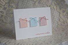 Birthday Wishes Handmade Greeting Card by endlessinkabilities