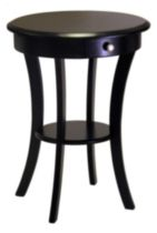 Table d'appoint Sasha Noir