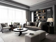 Living Room Design Modern Mesmerizing Dynamic Duo Pair Up For A Stunning New Build  Living Rooms Inspiration