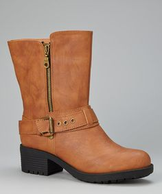Take a look at this Camel Roger Boot by Bumper on #zulily today!
