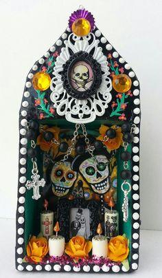 DIA DE LOS MUERTOS/DAY OF THE DEAD~altar