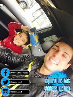 ¡QUE LINDOS! ¡Nicola Porcella junto a su hijo Adrianito! #EquipoCobrasEEG