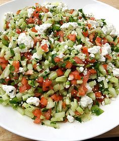 Sheppard's Salad with Feta