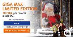 Le promozioni natalizie di Wind: All Inclusive Christmas Edition e GIGA Max Limited Edition
