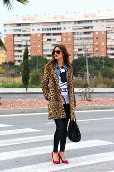 Cosas de Hermanas: Abrigo de leopardo