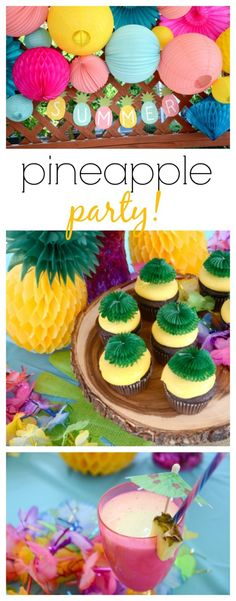 Throw a Pineapple Party This Summer | The Shopping Mama