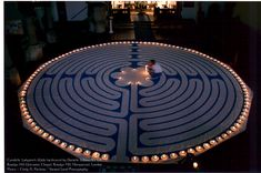 Walking the labyrinth of meditation