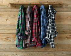 Bean Scotch Plaid Flannel Shirts The Lumbersexual coat rack Plaid Shirts, Plaid Flannel, Cool Shirts, Hipsters, Mode Vintage, Vintage Denim, Lumberjack Style, Picnic Outfits, Personalized T Shirts