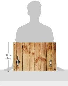 Zeller 11651 Memobord Wood, Glas, ca. 60 x 40 x 2 cm Lighting, Wood, Home Decor, Glass, Household, Ad Home, Madeira, Homemade Home Decor, Woodwind Instrument