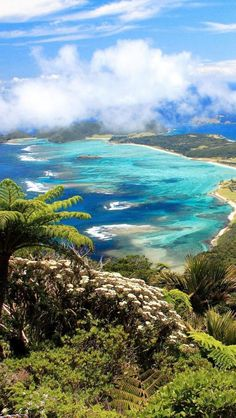 Lord-Howe-Island-Tasman-Sea-New-South-Wales-Australia Beautiful Nature Beautiful outdoor space. Places Around The World, Oh The Places You'll Go, Places To Travel, Places To Visit, Around The Worlds, Dream Vacations, Vacation Spots, Beautiful World, Beautiful Places