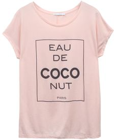 Taylor - Loose Tee - Eau de CocoNut #graphictee #tee #graphictshirt #tshirt #eaudecoconut #cocochanel #coco #chanel #fashion #southparade #southparadeclothing #asos #shopbop #streetchicluxury