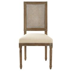 Home Decorators Collection Jacques Cane Antique Brown Square Back Dining Side Chairs (Set of 9946200350 - The Home Depot Bamboo Dining Chairs, Black Dining Room Chairs, Accent Chairs For Living Room, Dining Arm Chair, Upholstered Dining Chairs, Dining Area, Dining Table, Chair Upholstery, Office Chairs