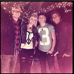 """Guys I have an idea! Let's make a group board called the """"R5 Family"""" and we can all pin stuff about R5! Are you in? Comment below if you want to be added! :D❤"""