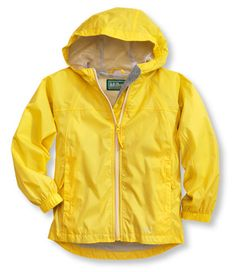 Infants' and Toddlers' Discovery Rain Jacket: Jackets and Parkas | Free Shipping at L.L.Bean