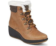 Alpine Inspired Wedge Rain Waterproof Boot Molded EVA Wedge for Comfort Under Foot Signature Rawhide Lacing with Speed Hooks Non-Marking Rubber Outsole with Wave-Siping for Ultimate Wet/Dry Traction
