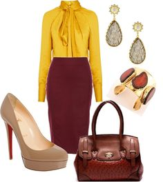 """""""Business Chic: From Desk to Dinner"""" by ladiesfashionsense on Polyvore"""