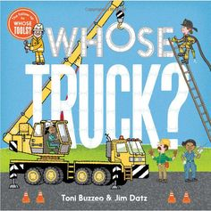 "#Giveaway: Win the Book ""Whose Truck?"" (Ends 1/25)"