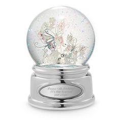 Butterfly Water Globe