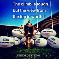 It's going to involve a lot of extremely hard work, but imagine how good it's going to feel when you make it. Let BeingRugby help you on your journey