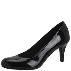 Comfort Plus by Predictions Women's Karmen Pump 9 Black P...  Click through for additional information on the product and how to purchase.