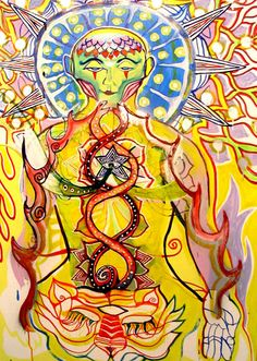 Young Yuketswar. By Guilherme Pilla. 2004.