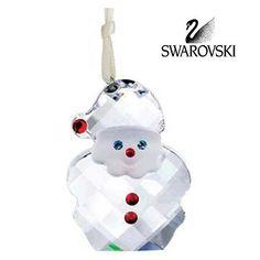 Swarovski Crystal Christmas Ornament SANTA CLAUS ORNAMENT #5103223