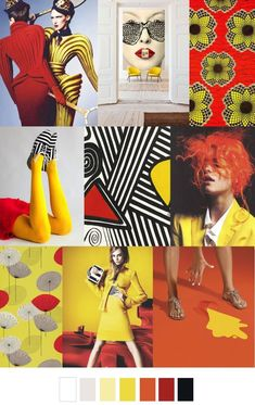 S/S 2017 pattern & colors trends: KETCHUP & MUSTARD