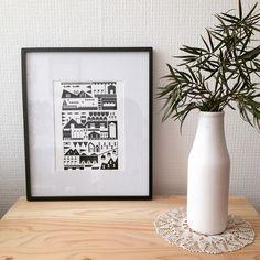Instagram media wunhandmade - Serigrafia sobre papel tela suiza 250 gms. Ediciones limitadas y numeradas ✌️