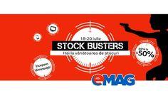 In aceasta dimineata a inceput o noua campanieeMAG Stock Busters, a 4-a editie din acest an. Traditie continua la eMAG, ca la 1-2 luni sa incerce sa-si lichideze din stocurile [...]