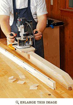 Mortising Jig Woodworking Plan