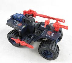 """Vintage 1985 3.75"""" GI Joe Cobra Ferret ATV Figure Vehicle Complete Loose"""