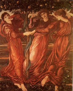 "Edward Burne Jones - ""The Garden of Hesperides"" 1870-77"