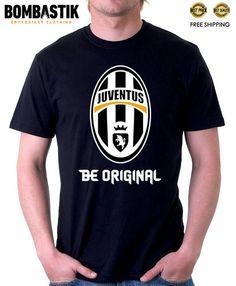 989cd028e0dd R 0497 JUVENTUS Be Original Logo Bombastik T-shirt Tee Camiseta Calcio  Football Italia Top
