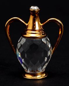 Product Name Swarovski Crystal Memories LN Crystal Wine Urn Figurine- Made in Austria at Modnique.com