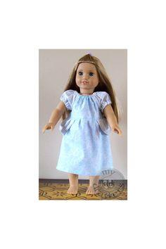 "15"" Doll CINDERELLA  Inspired Peasant Princess Dress American Girl Disney Doll Dress by #MyKidsDrawers"